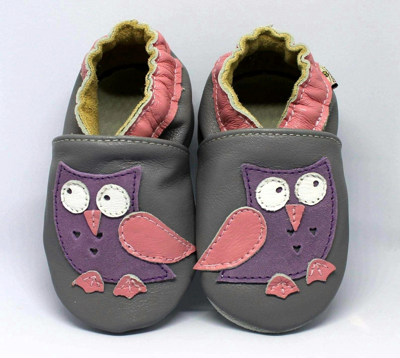 Owl Purple Grey Shoobees