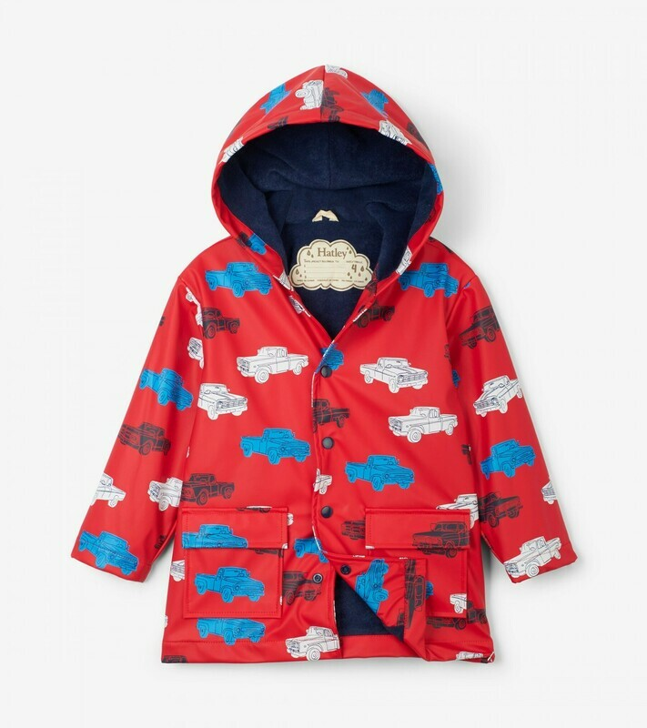 Hatley Pick Up Truck Raincoat