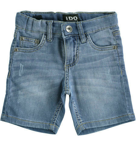 Comfortable Bermuda Denim Shorts