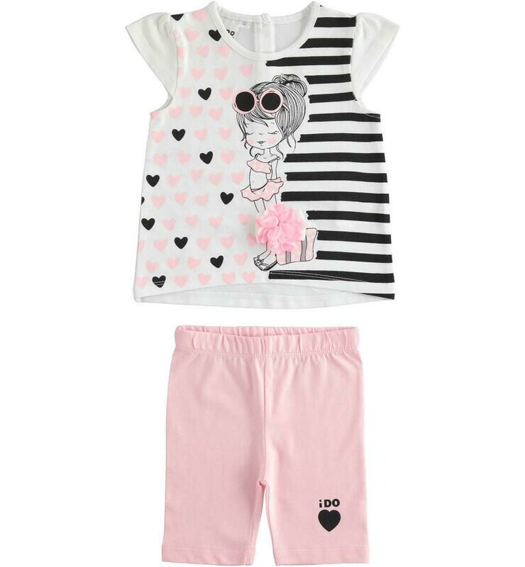 Two Piece cotton girls set