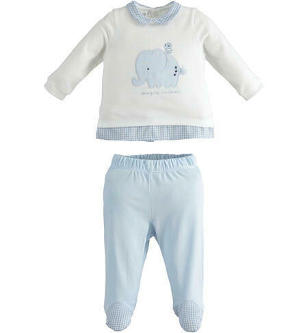 100% cotton outfit for hospital for baby boy