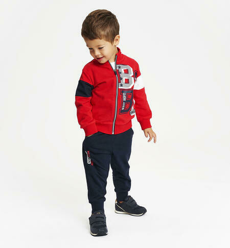 IDO Two piece  100% Boys Tracksuit