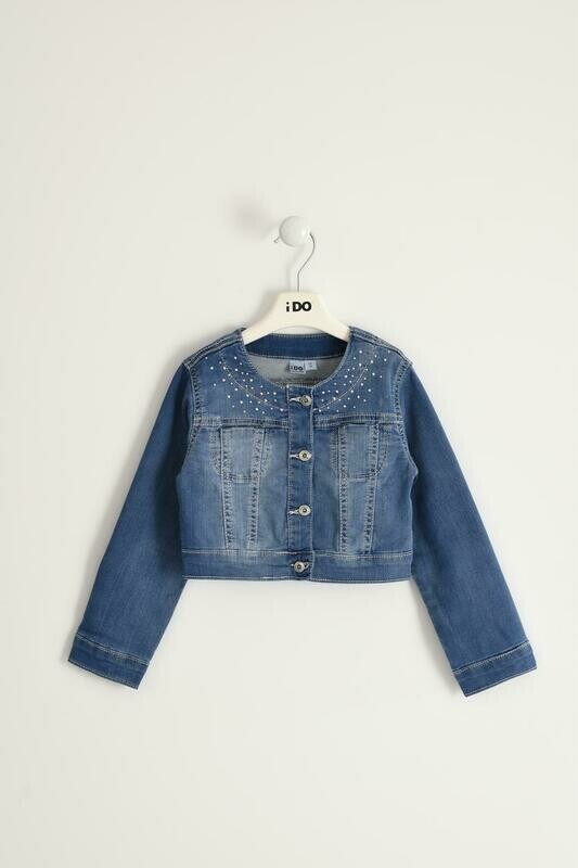 iDO denim jacket with for girl