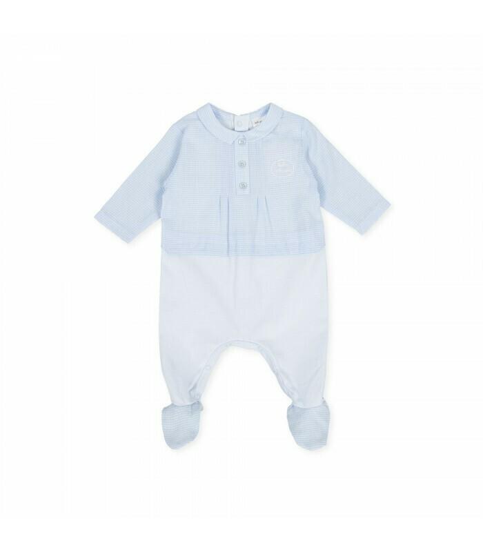 Tutto Piccolo Blue Babygro