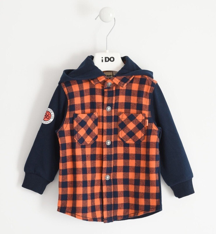 Warm Hoodie Shirt For Boy