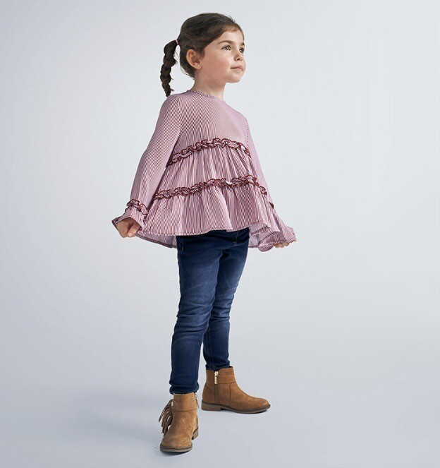 Mayoral Girls blouse With Frills