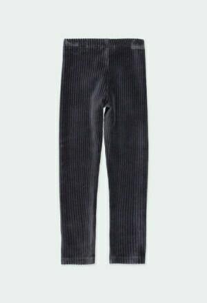 Boboli Cord Knit Legging NAVY