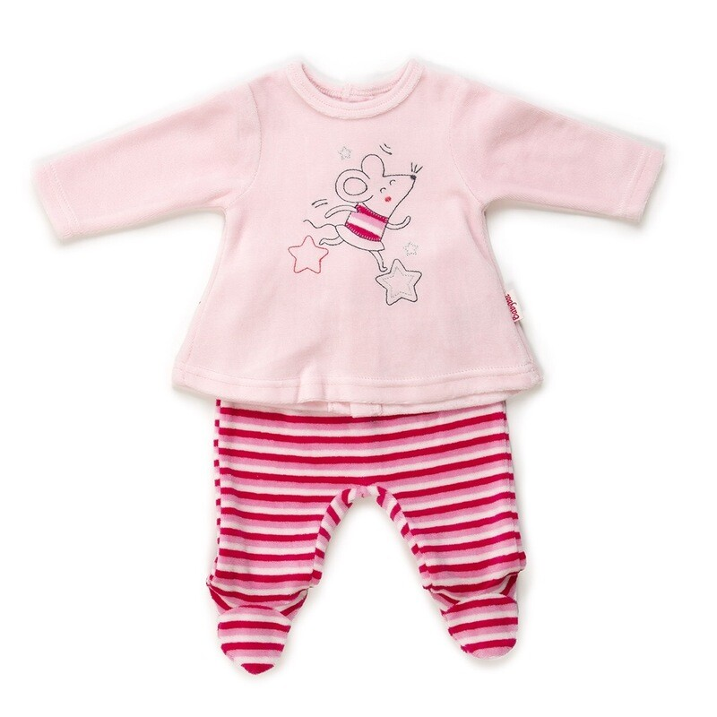 Babybol 2 piece Girls Velour