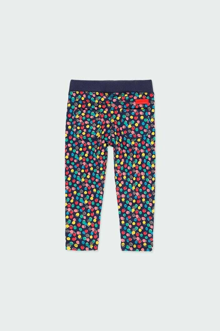 Boboli Fleece trousers polka dot for baby girl