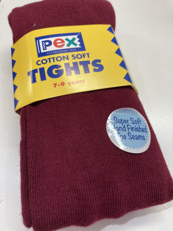 Pex Super Soft Cotton WINE  Tights