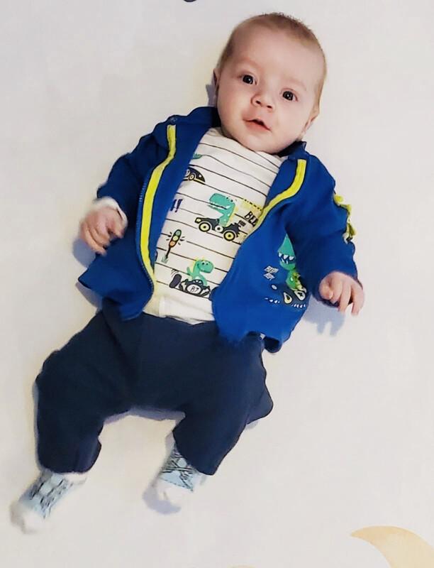Blue Seven Baby Boys  3 Piece  Suit