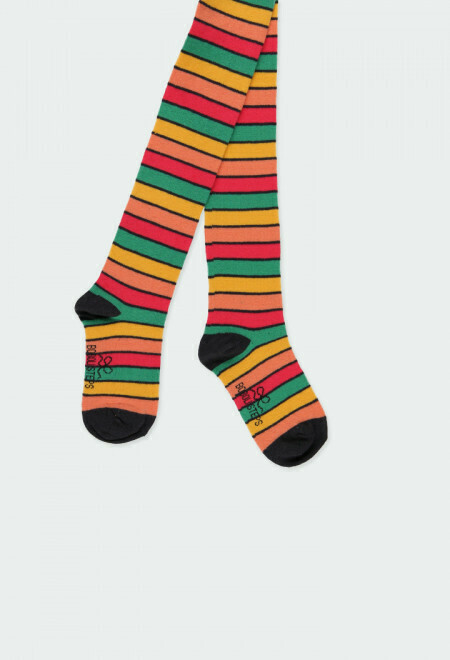 Boboli Thick Tights striped for girls