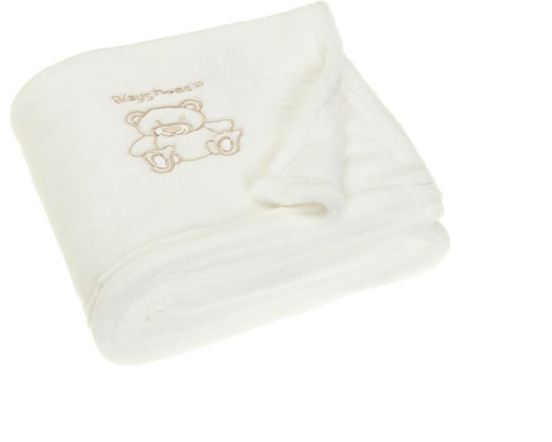 Playshoes Fleece Bear Blanket