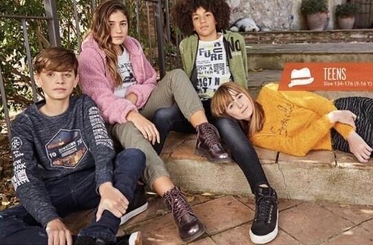 Blue Seven Teen girls Combat Trousers