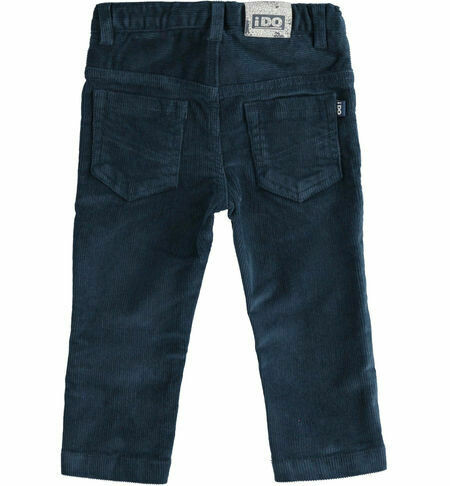 iDO Five-pocket velvet trousers for boy