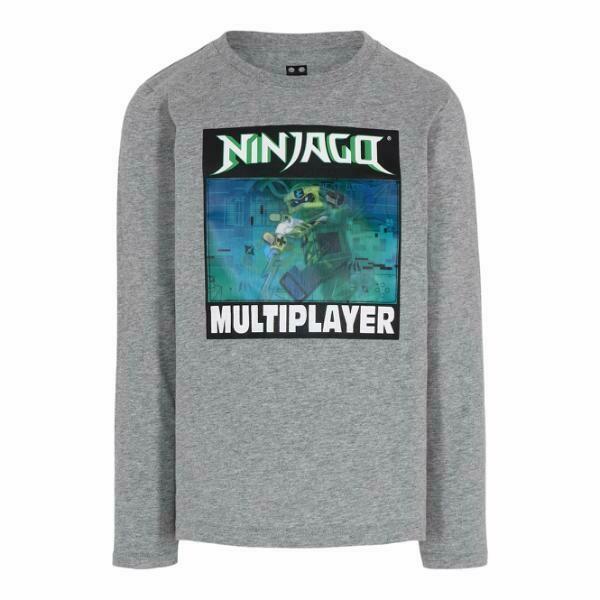 LEGO®WEAR  NINJAGO®  Grey L/S T-shirt