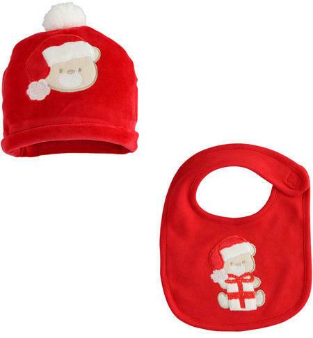 iDO Gift kit for Christmas bib and hat