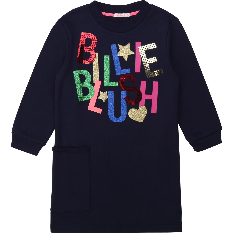 BillieBlush Navy Tunic Dress