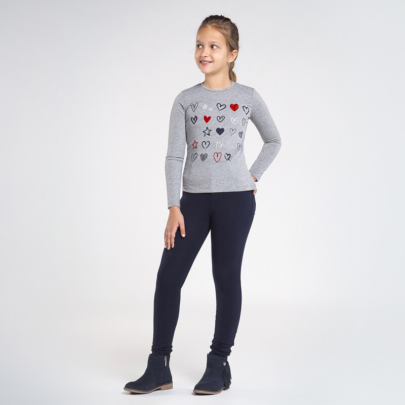 Mayoral Teen Navy Basic trousers for girl