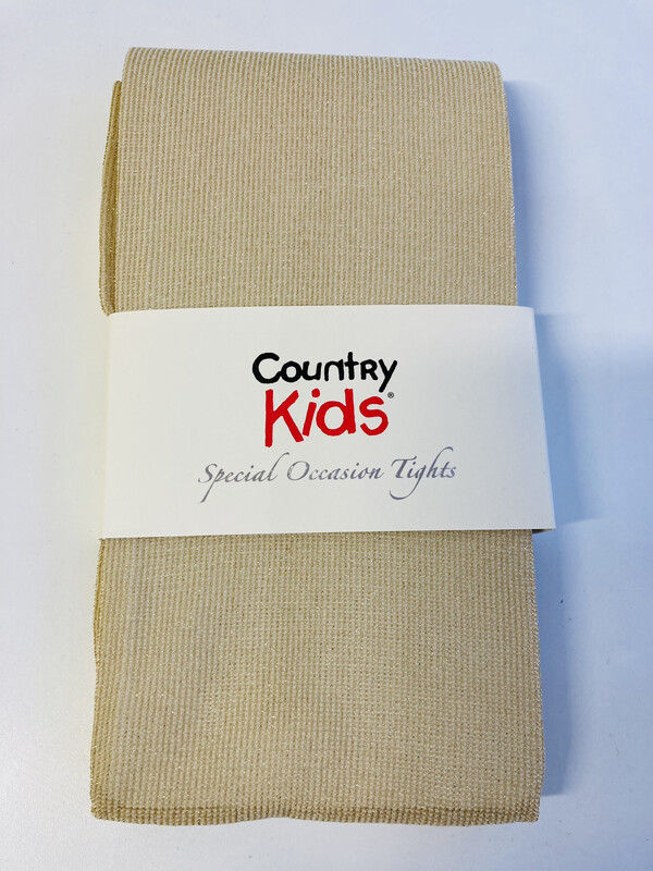 Country Kids Gold Sparkle Tights