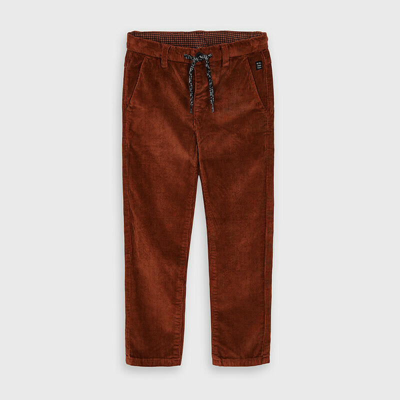 Mayoral Rust Corduroy trousers for boy
