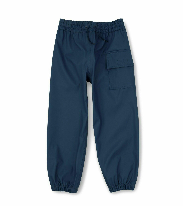 Hatley Boys Navy Rainproof Pants