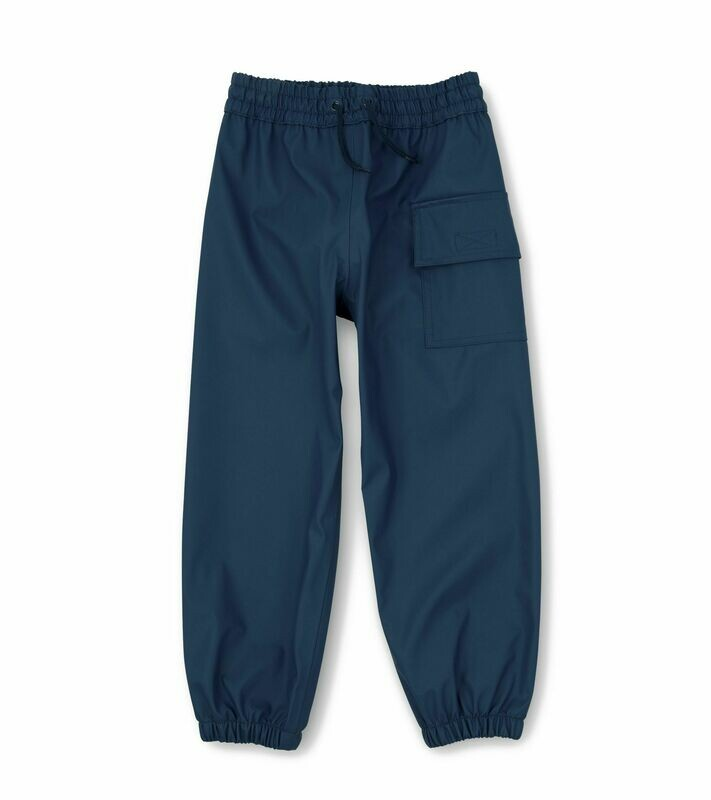 Hatley Boys Navy Rainproof Pants