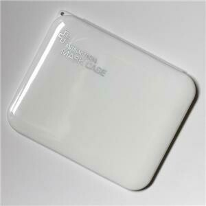 AntiBacterial Mask White Case
