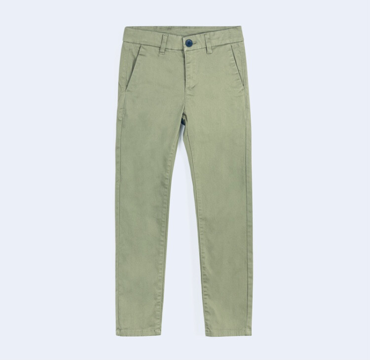 Mayoral Teen  Boy Slim fit basic Cream trousers