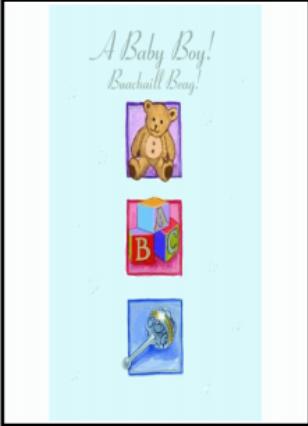 Baby Boy Card 2