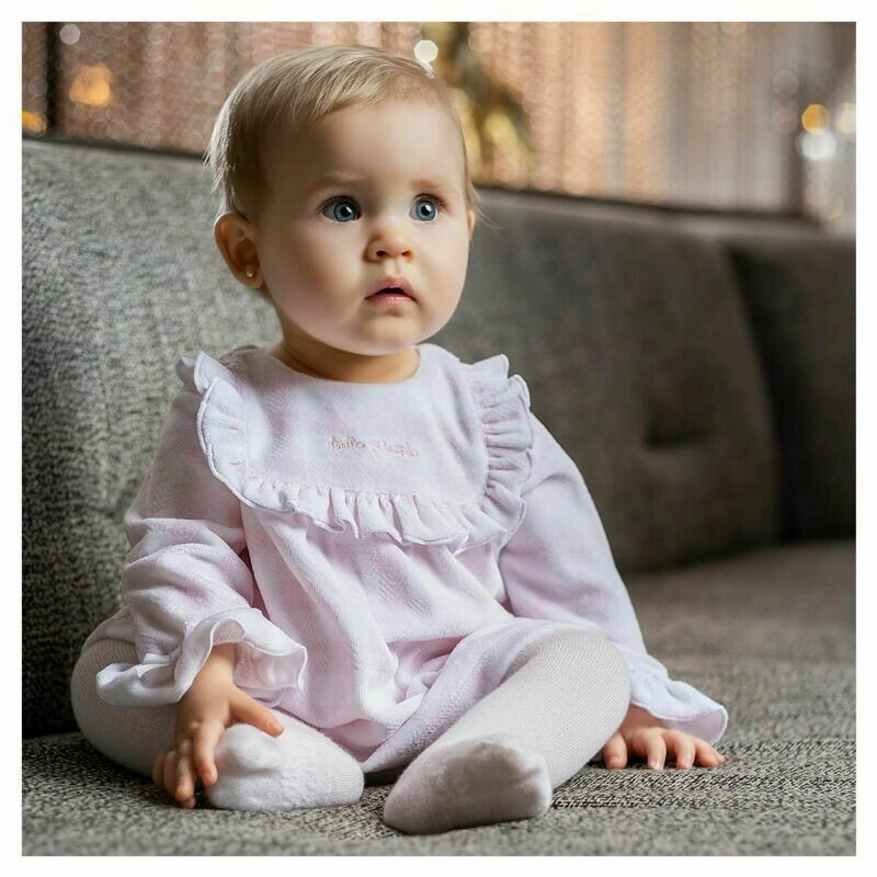 Tutto Piccolo Baby Girls Pale Pink Dress & Tights