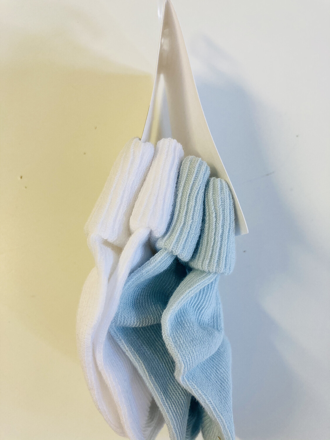 Pex 2 Pack Baby Cotton Socks Blue
