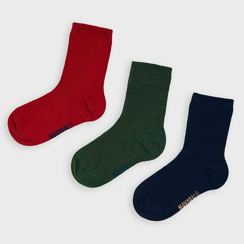 Mayoral Set of 3 pairs of socks for boy