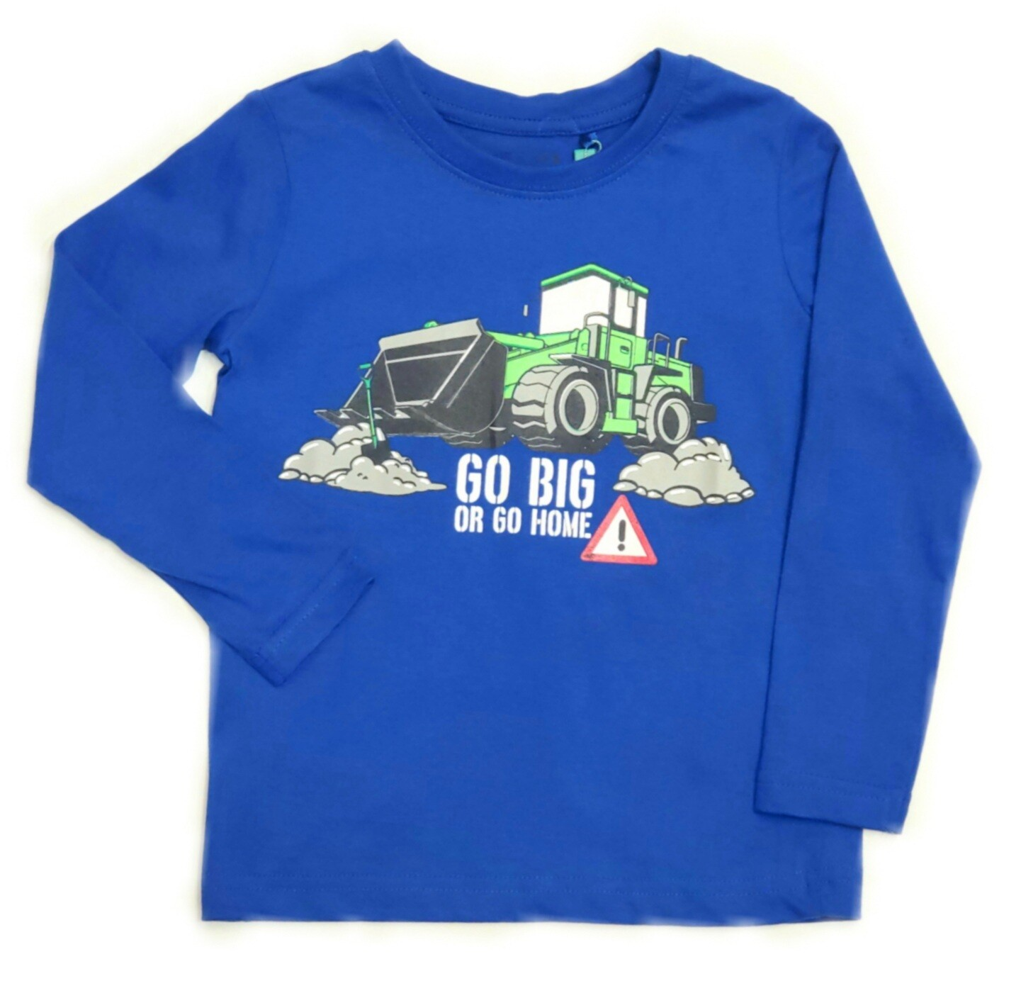Blue Seven Boys Long sleeved Top Blue