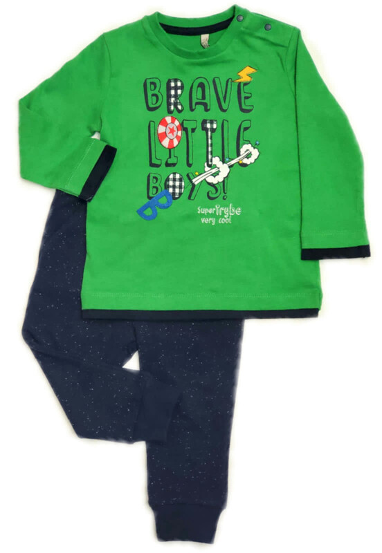 BIRBA Baby Boys Tracksuit Set Green