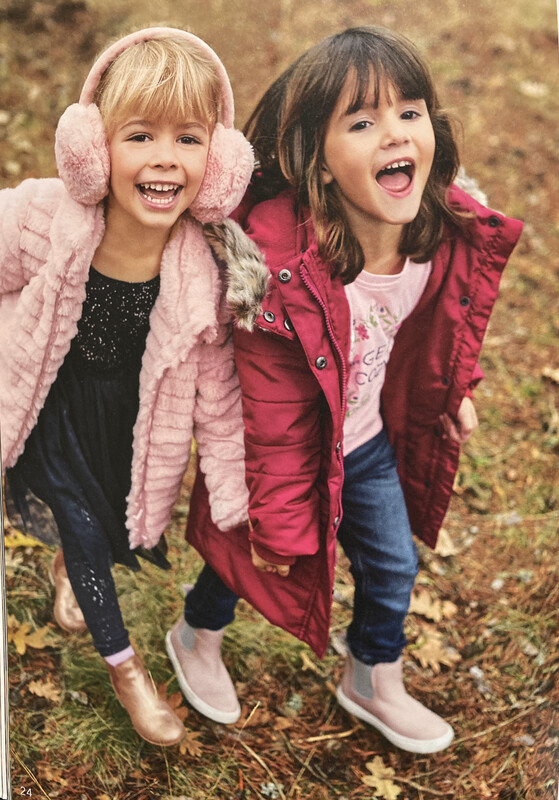 Blue Seven Girls Soft Pink Fleece with Hood