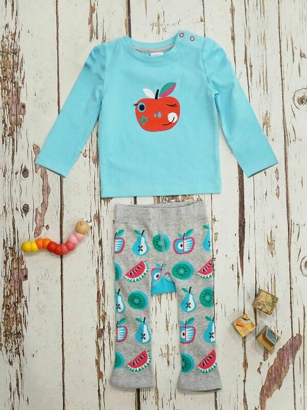 Blade & Rose Apple Top and leggings Set for Baby