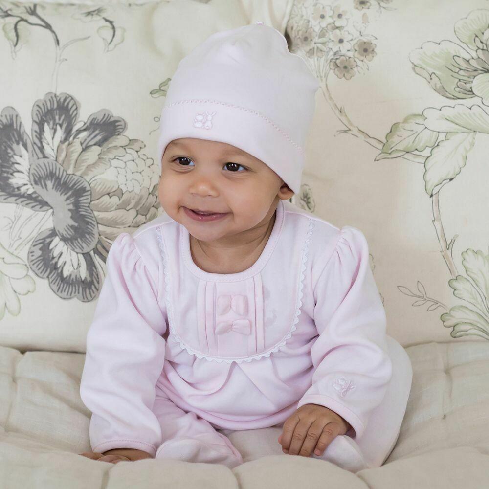 EMILE ET ROSE Girls Shantel Pink Babygro