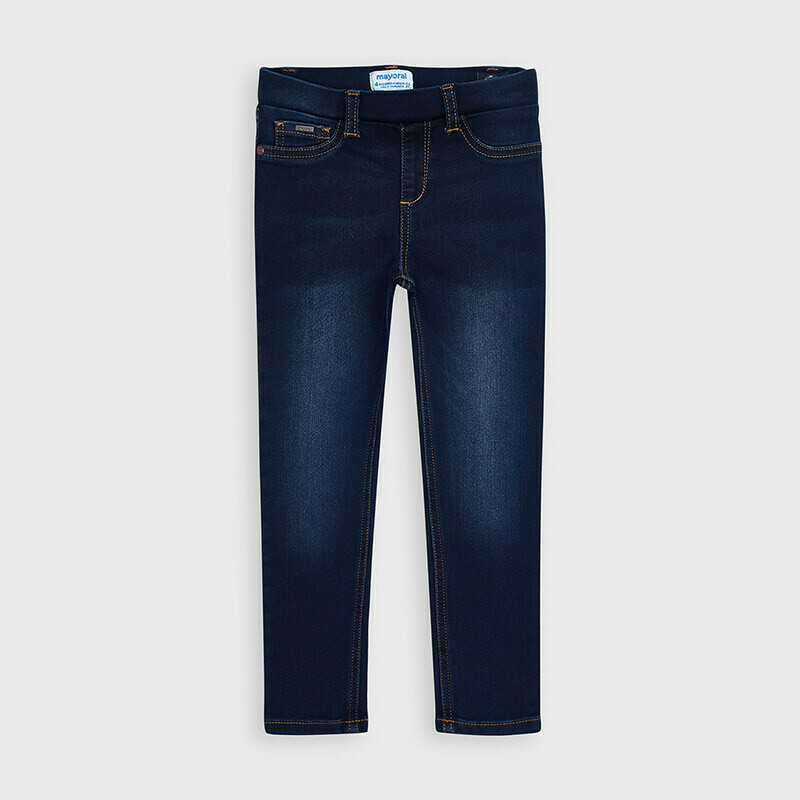 Mayoral Girls Basic jeans Dark Denim