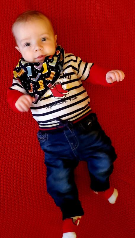 Mayoral Baby Boy Denim effect joggers