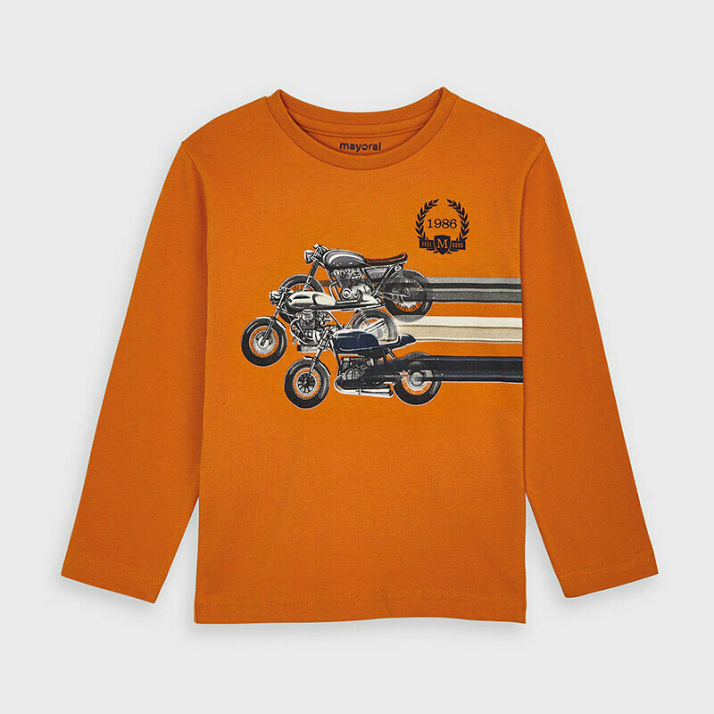 Long sleeved race t-shirt for boy