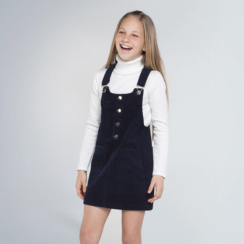 Mayoral Teen Corduroy skirt dungaree for girl