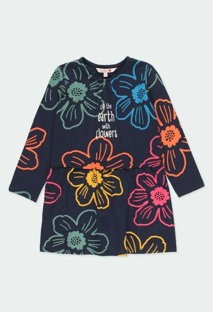 Boboli Girl Knit stretch dress