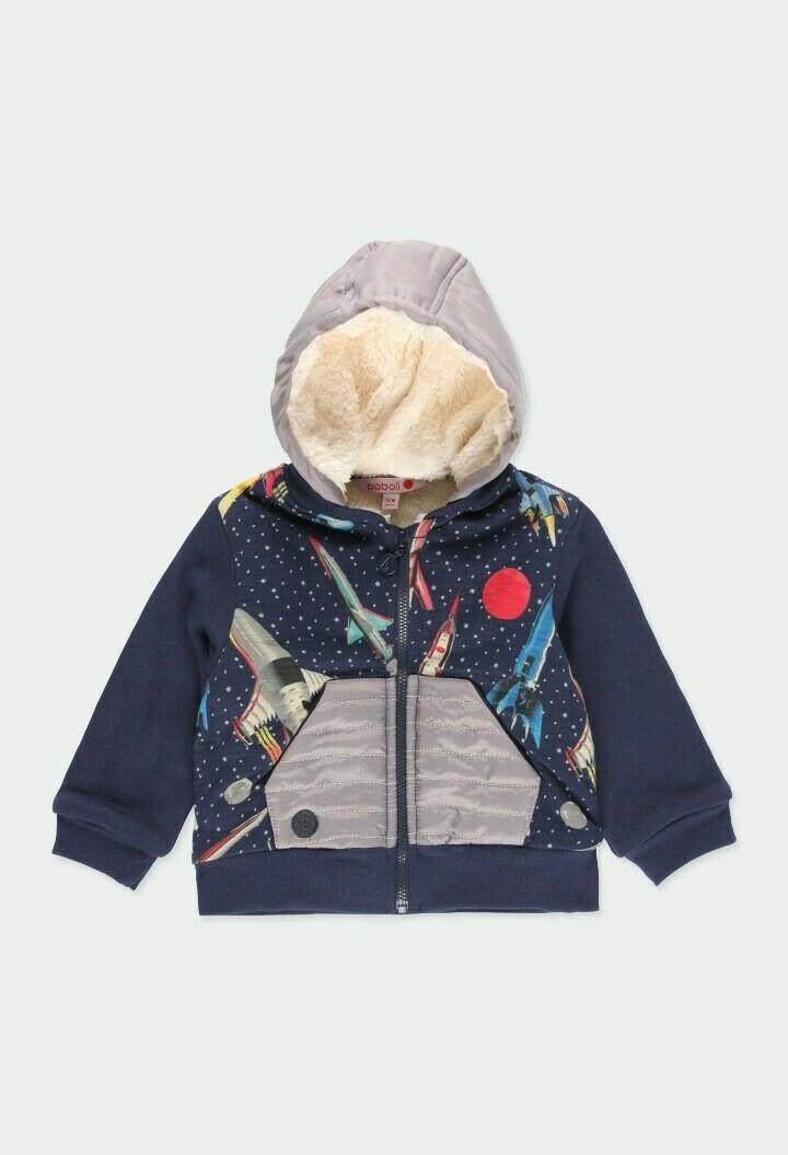 Boboli Baby Boy Fleece jacket rocket