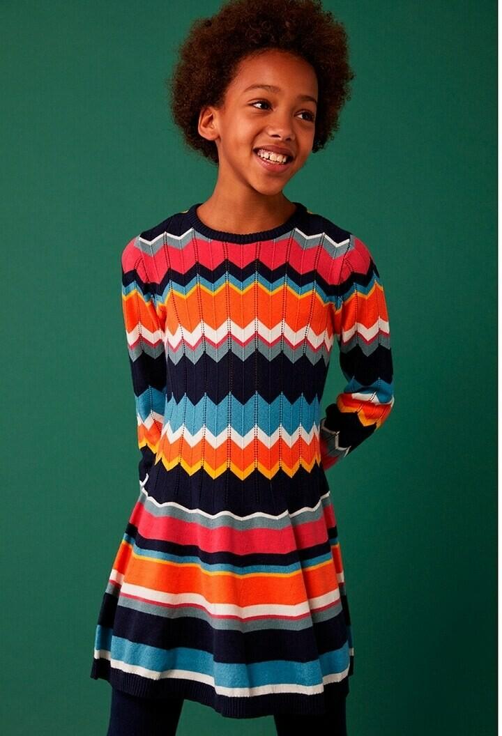 Boboli Girl Knitwear dress in various colours