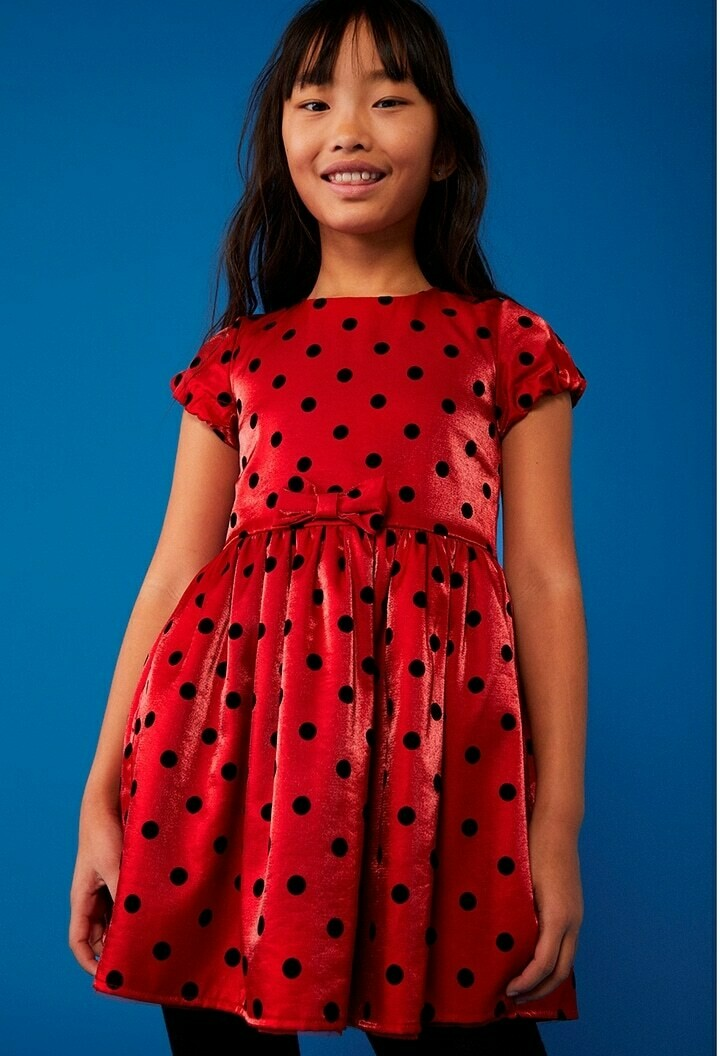Boboli Girl Dress Red fantasy