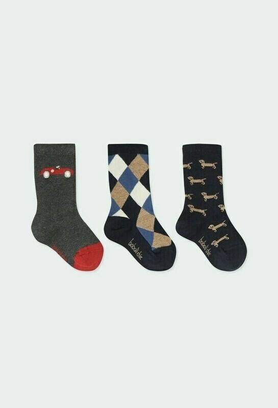 Boboli Pack of socks for baby boy