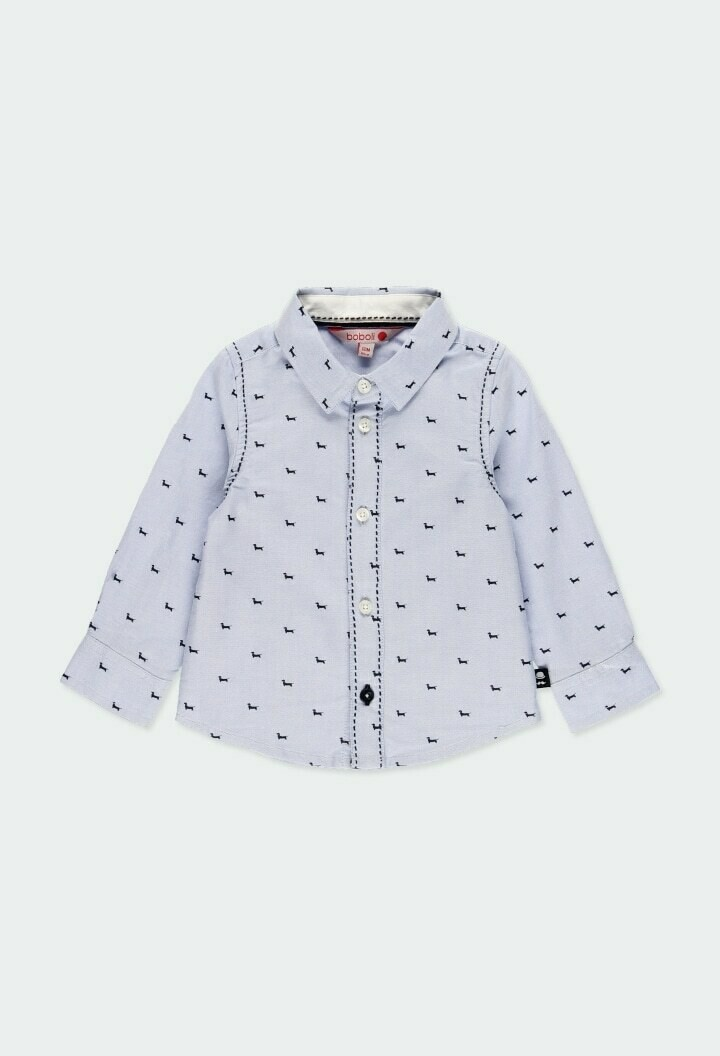 Boboli Baby Boy Oxford long sleeves shirt for baby boy