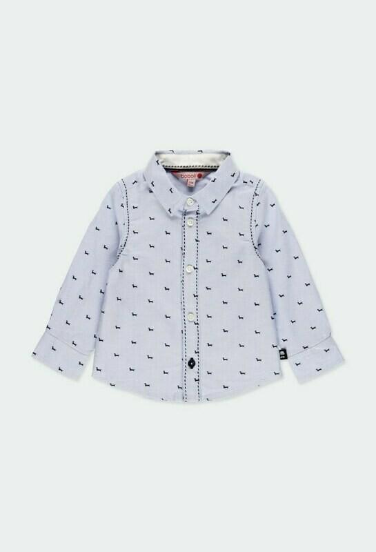Boboli Baby Boy Oxford long sleeves shirt for baby boy