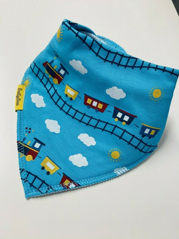 BabyBoo Boys Multi Pack of three Organic Cotton BIBs